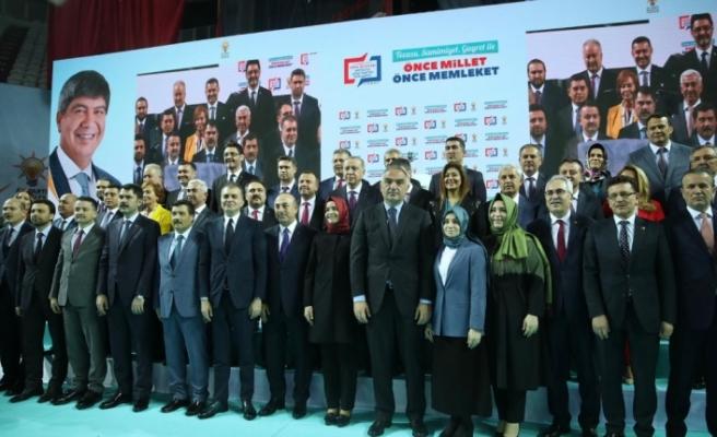 Cumhur İttifakı'nın Antalya adayları tanıtıldı
