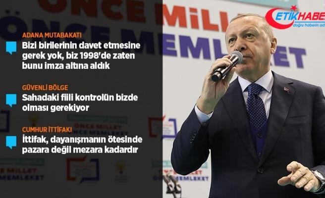 Cumhurbaşkanı Erdoğan: Güvenli bölge sözü yerine gelmezse biz oluşturacağız