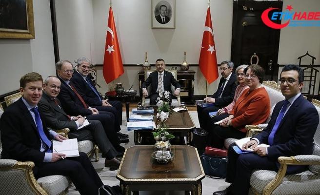 Cumhurbaşkanı Yardımcısı Oktay AB Komisyonu üyesi Stylianides'i kabul etti