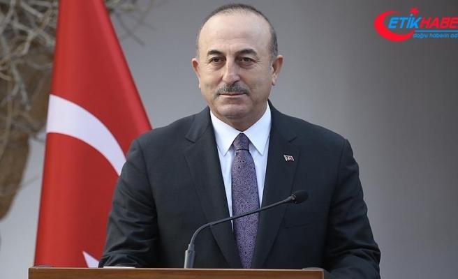 Dışişleri Bakanı Çavuşoğlu: Artık sadece sismik araştırma değil, sondajı da yapacağız