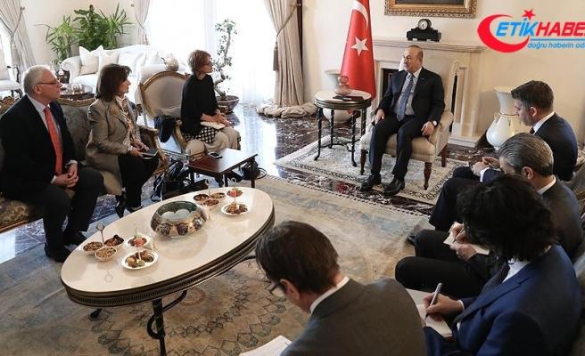 Dışişleri Bakanı Çavuşoğlu BM raportörü Callamard ile görüştü