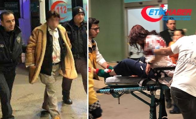Dolandırdığını iddia ettiği kızını 3 yerinden bıçakladı