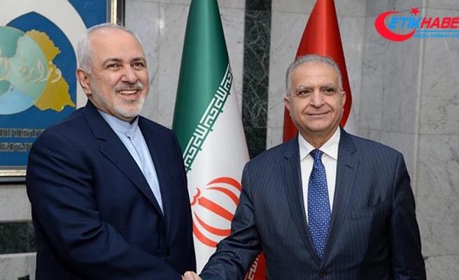 El-Hakim ve Zarif ABD'nin İran yaptırımlarını görüştü