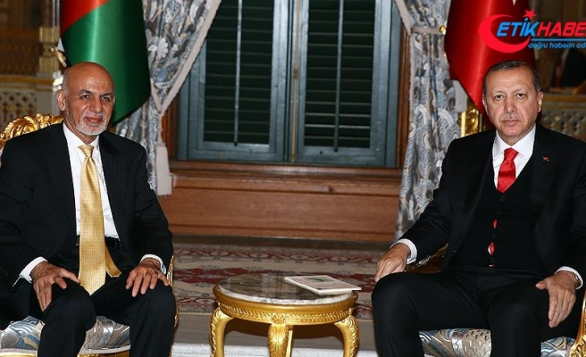 Erdoğan'dan Afganistan Cumhurbaşkanı Gani'ye taziye mesajı