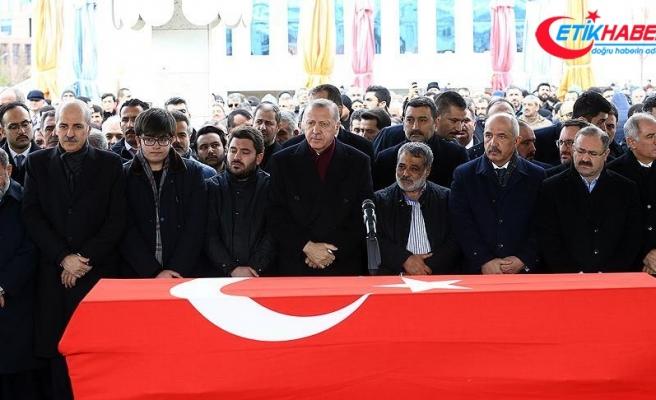Erdoğan eski milletvekili Aksak'ın cenazesine katıldı