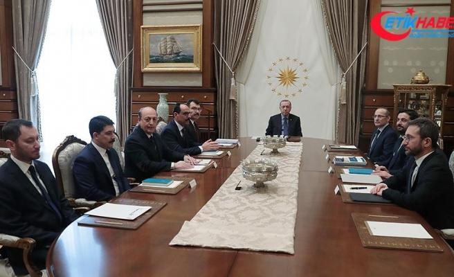 Erdoğan Politika Kurullarının başkanvekillerini kabul etti