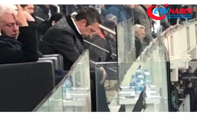 Fenerbahçe Başkanı Ali Koç, Bursaspor Maçında Yıkıldı