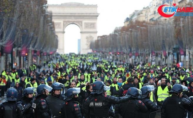 Fransa'ya yapılan uluslararası uçuşlarda düşüş
