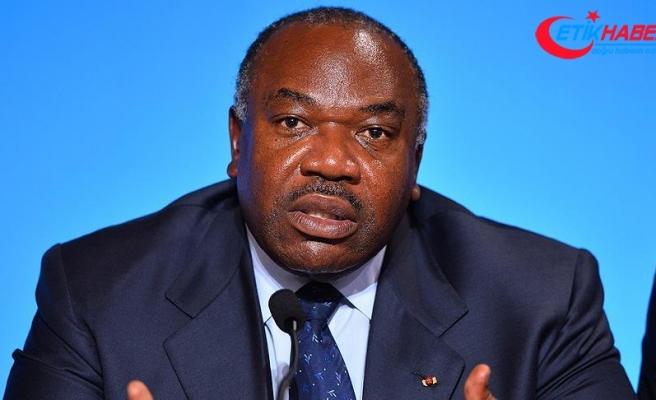 Gabon Cumhurbaşkanı aylar sonra kameralar karşısına geçti