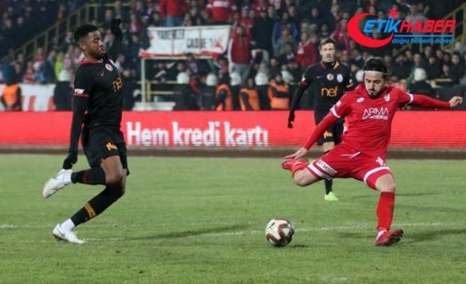 Galatasaray Bolu'dan avantajlı döndü