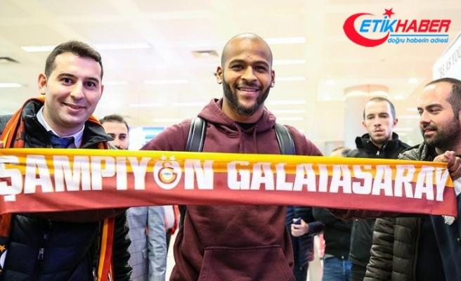 Galatasaray'ın yeni transferi Marcao İstanbul'a geldi