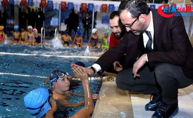 Gençlik ve Spor Bakanı Kasapoğlu: 7'den 70'e herkese yüzme öğreteceğiz