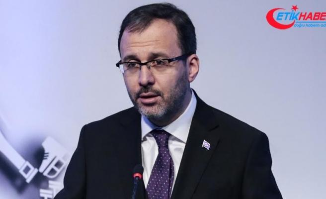 Gençlik ve Spor Bakanı Kasapoğlu: Sporu tabana yayacağız
