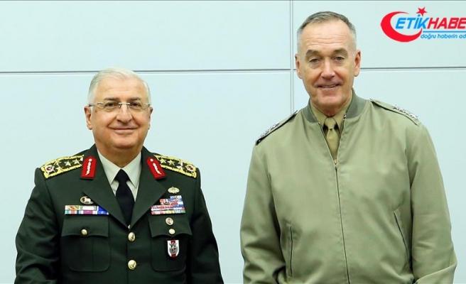 Genelkurmay Başkanı Güler Dunford'a başsağlığı diledi