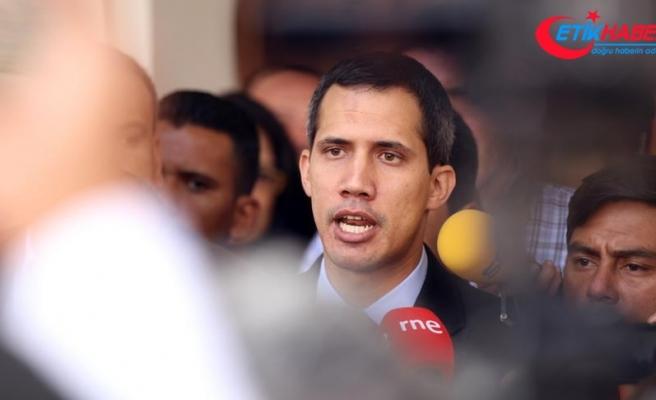 Guaido'ya göre Venezuela'da iç savaş riski yok
