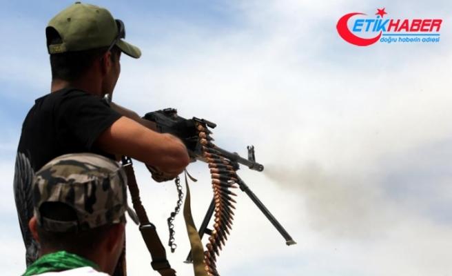 Haşdi Şabi Suriye'nin iç kesiminde DEAŞ'ı vurdu