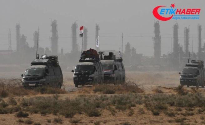 Irak 61'inci Tugay Özel Kuvvetler birimi Kerkük'e girmeye başladı