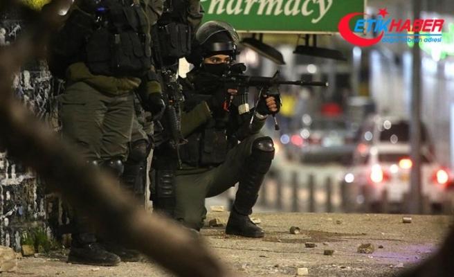 İsrail askerleri Batı Şeria'da 7 Filistinliyi yaraladı