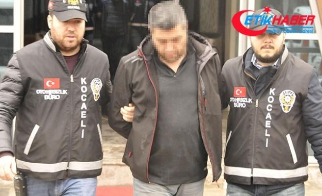 İstanbul'dan çaldıkları kamyonu Kocaeli'de satarken yakalandılar