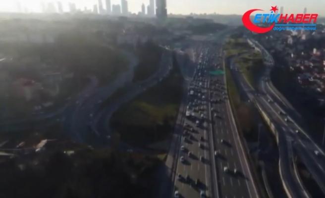 İstanbul'da yarı yıl tatili trafiği