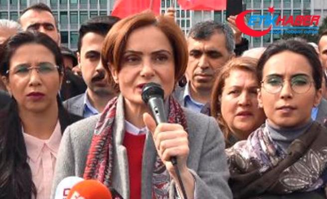 İstifadan vazgeçen Kaftancıoğlu partililere seslendi