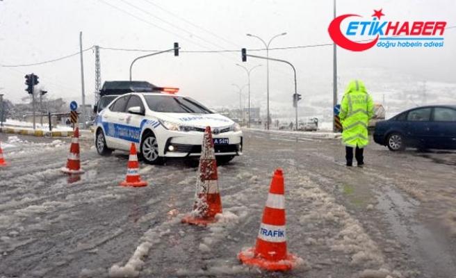 Kahramanmaraş-Kayseri yolu ulaşıma kapandı