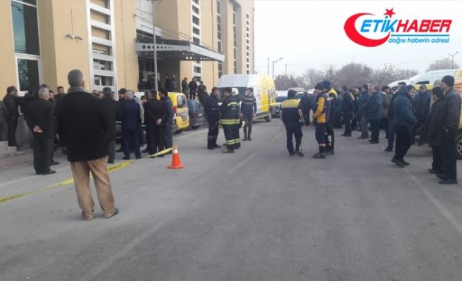 Konya'da PTT binasında patlama: 1 yaralı