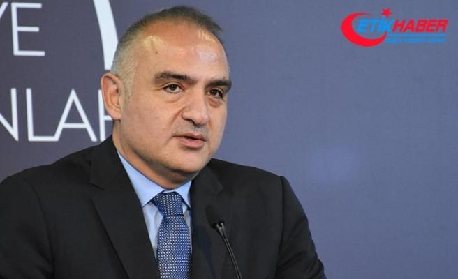 Kültür ve Turizm Bakanı Ersoy: Yasa önerdiğimiz şekilde geçerse sinemada bilet tartışması kalmayacak