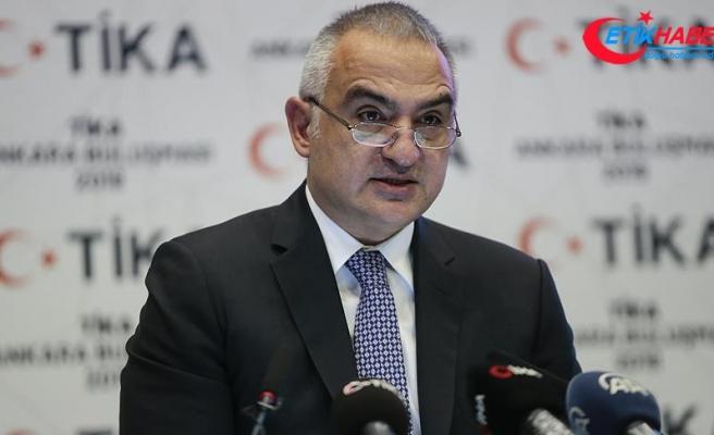 Kültür ve Turizm Bakanı Ersoy: TİKA sorumluluklarını yerine getirmeye devam edecek