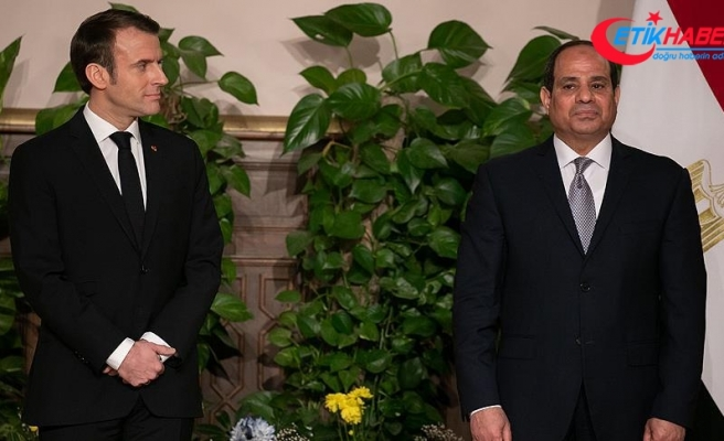 Macron'dan Sisi'ye 'milyar avroluk' ziyaret