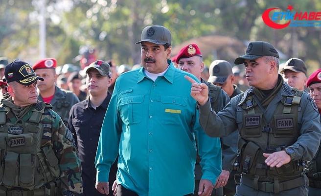 Maduro'dan askerlere birlik ve disiplin talimatı