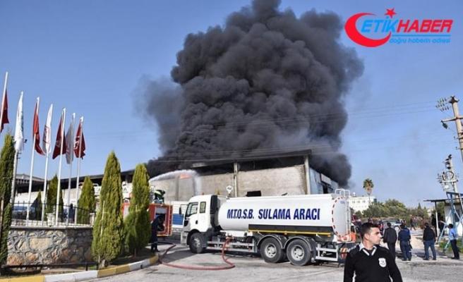 Mersin-Tarsus OSB'de yangın