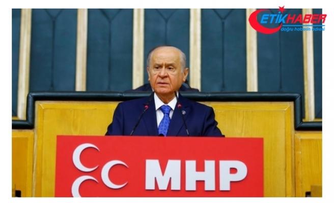 MHP Lideri Bahçeli: Ya beka, ya da bela. Ortası yoktur, başka alternatif kalmamıştır