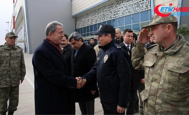 Milli Savunma Bakanı Akar: Mehmetçik bu provokasyonları boşa çıkardı