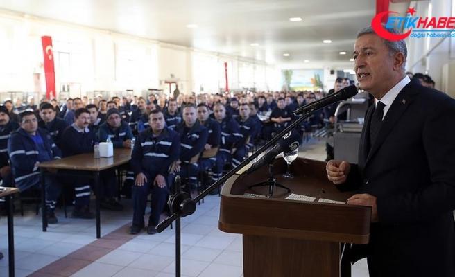 Milli Savunma Bakanı Akar: TSK zamanı geldiğinde Münbiç'te görevini yerine getirecektir