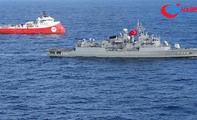 Milli Savunma Bakanlığı: Doğu Akdeniz'de bilimsel araştırma faaliyetleri sürüyor