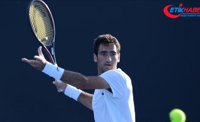 Milli tenisçi Cem İlkel, Avustralya Açık'a veda etti