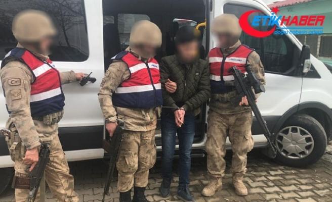 PKK'nın şehir merkezinde görevlendirdiği terörist yakalandı