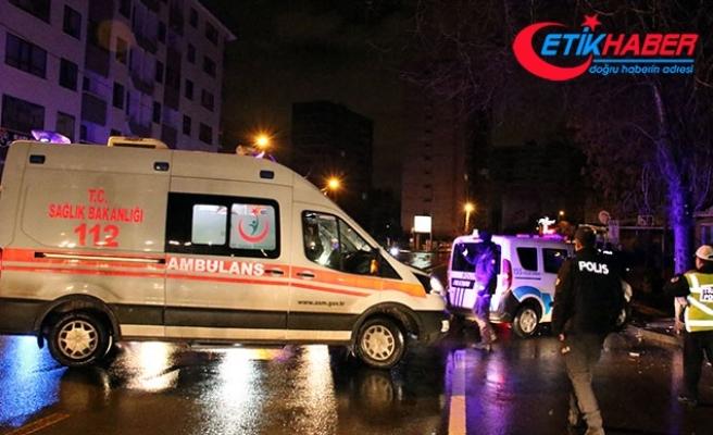 Polisten kaçan otomobil, kaza yaptı: 1 yaralı