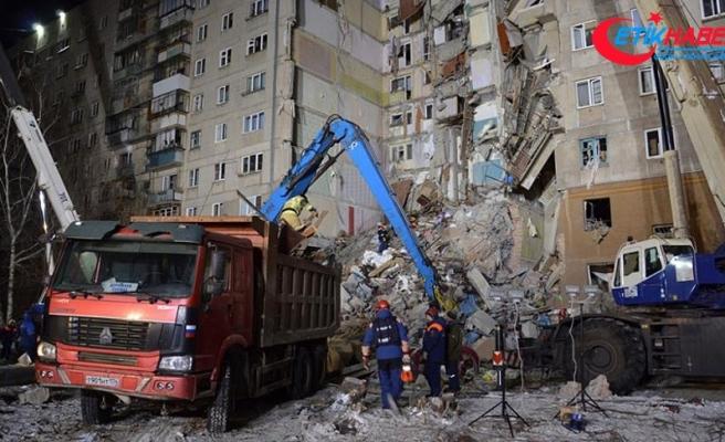 Rusya'daki gaz patlamasında ölü sayısı 13'e çıktı