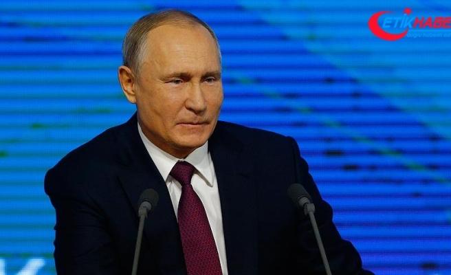 Rusya Devlet Başkanı Putin: Türk Akımı'nın 2019 sonuna kadar çalışmasını planlıyoruz
