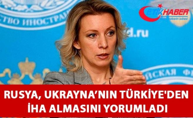 Rusya, Ukrayna'nın Türkiye'den insansız hava araçlarını almasını değerlendirdi