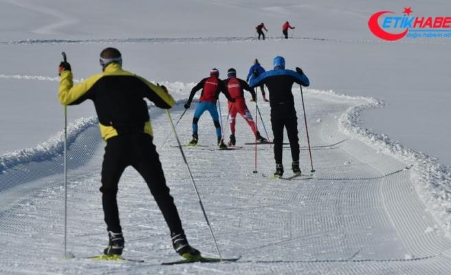 Sarıkamış, Avrupa Kayakla Oryantiring Şampiyonası'na hazırlanıyor