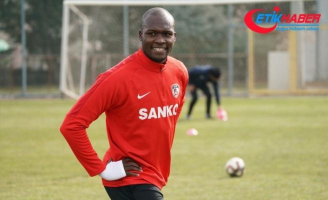 Sow yeni takımıyla ilk antrenmanına çıktı