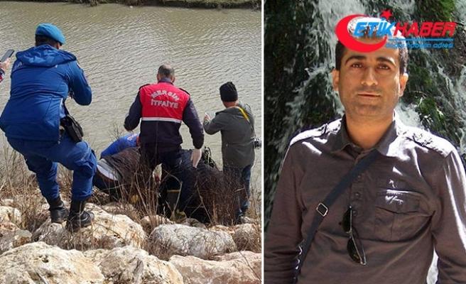 Sulama kanalına düşen okul müdür yardımcısının cesedi bulundu