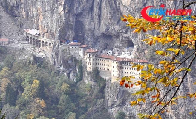 Sümela Manastırı'nda teleferik projesi ihaleye çıkıyor