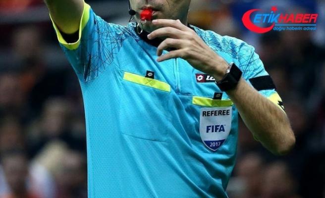 Süper Lig'de 20. hafta maçlarını yönetecek hakemler belli oldu