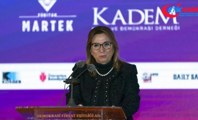 'Türk kadın girişimcisini marka yapmak için hep beraber çalışacağız'