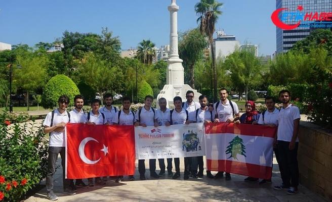 'Türkiye, Lübnan'daki faaliyetleriyle olumlu bir rol oynuyor'