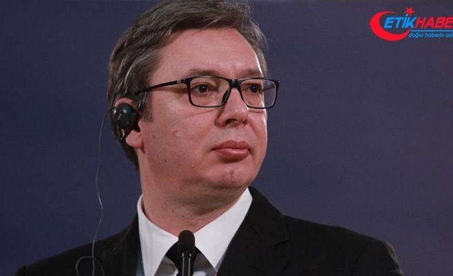 'Türkiye ve Sırbistan arasındaki ilişkilerden gurur duyuyorum'